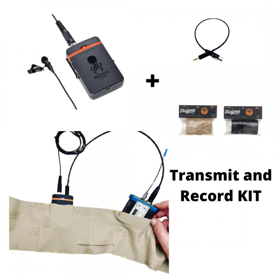 TENTACLE TRACK E + VIVIANA Double Pouch + cable BUNDLE