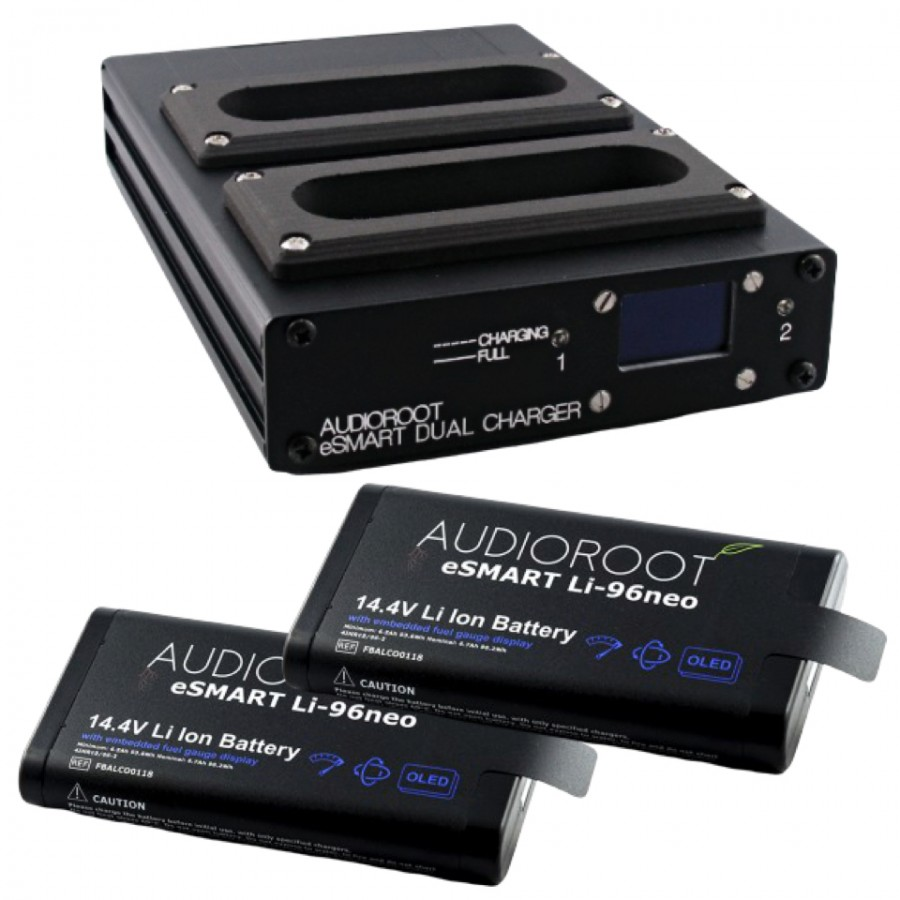Audioroot Dual Battery Li-96neo Charger Pack