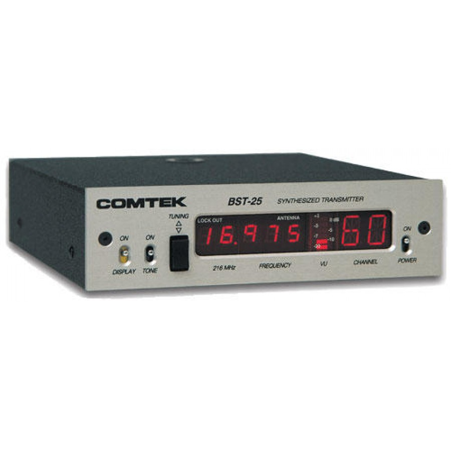 Comtek BST-25/216 Synthesized Base Station Transmitter with Carrying Case