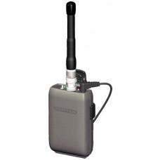 Comtek M-216 Opción P7 Transmisor de campo inalámbrico portátil con salida BNC RF