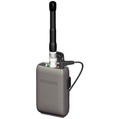 Comtek M-216 Option P7 Portable Wireless Field Transmitter with BNC RF output