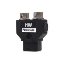 HAWK WOODS Power-Con 2-pin Dual Hirose