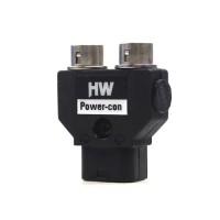 HAWK WOODS Power-Con 2-pin Dual Hirose