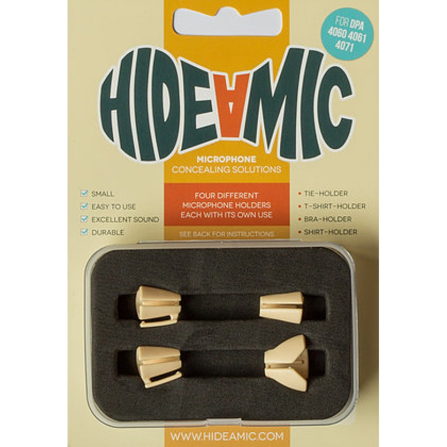 Hide-a-mic dpa set 4060/4061/4062/4063/4071