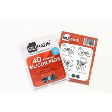 Hide-a-mic SiliPads super adhesive silicon pads