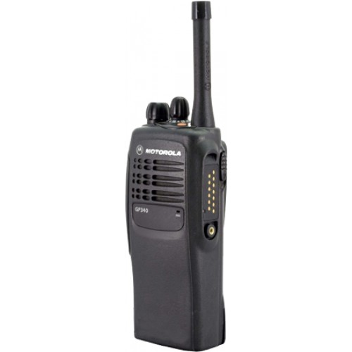 Motorola Gp340 Radios Walkie Talkies Uhf Professional (Rental)