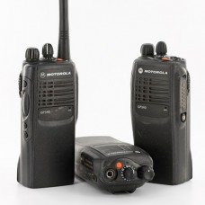 Motorola Gp340 Walkie Talkies Uhf Professional