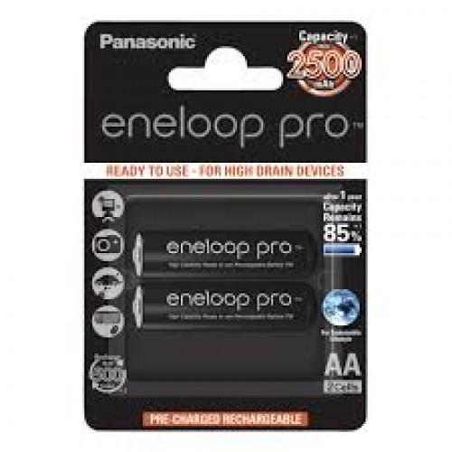 Panasonic eneloop pro 2500 x2