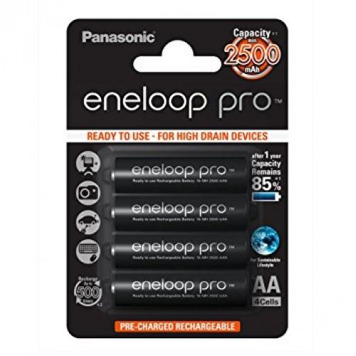 Panasonic eneloop pro 2500 x4