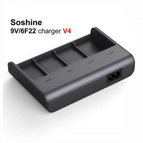 Soshine V4 9V Battery Charger