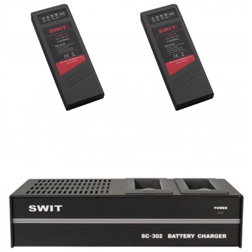 SWIT NP1 BUNDLE BATTERY CHARGER