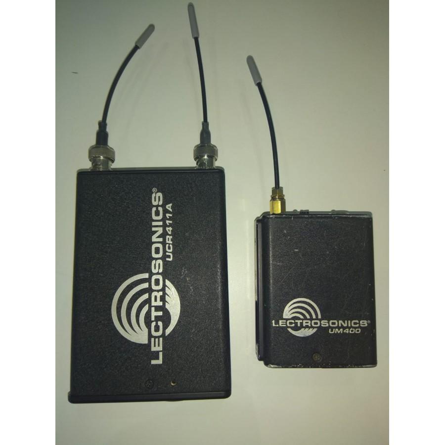 LECTROSONICS SET UCR411A  BLOCK 28 (SECOND HAND)